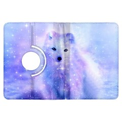 Arctic Iceland Fox Kindle Fire Hdx Flip 360 Case by augustinet
