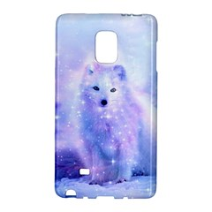 Arctic Iceland Fox Galaxy Note Edge by augustinet