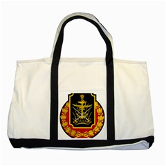 Logo Of Imperial Iranian Ministry Of War Two Tone Tote Bag