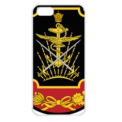 Logo Of Imperial Iranian Ministry Of War Apple Iphone 5 Seamless Case (white) by abbeyz71