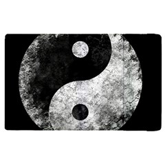 Grunge Yin Yang Apple Ipad Pro 9 7   Flip Case by Valentinaart