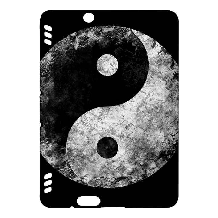 Grunge Yin Yang Kindle Fire HDX Hardshell Case