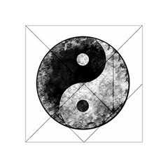 Grunge Yin Yang Acrylic Tangram Puzzle (4  X 4 )