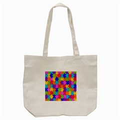 Colorful 10 Tote Bag (cream) by ArtworkByPatrick