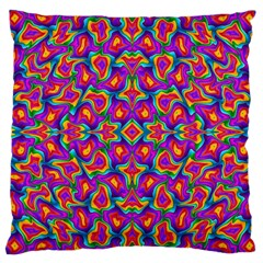 Colorful 11 Large Cushion Case (two Sides)