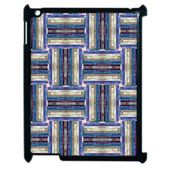 Square 2 Apple Ipad 2 Case (black) by ArtworkByPatrick