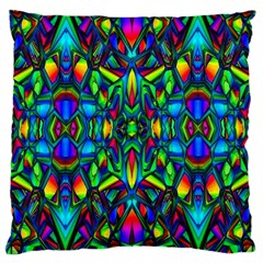 Colorful 13 Large Cushion Case (two Sides)