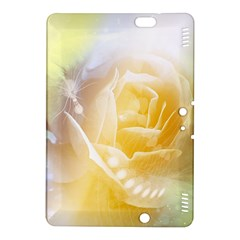 Beautiful Yellow Rose Kindle Fire Hdx 8 9  Hardshell Case by FantasyWorld7