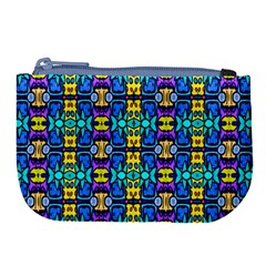 Colorful 14 Large Coin Purse by ArtworkByPatrick