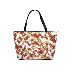 Abstract Textured Grunge Pattern Shoulder Handbags by dflcprints
