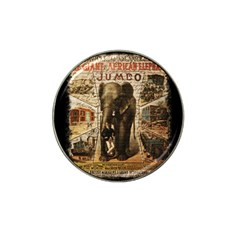 Vintage Circus  Hat Clip Ball Marker by Valentinaart