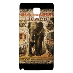 Vintage Circus  Galaxy Note 4 Back Case by Valentinaart