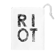 Riot Drawstring Pouches (extra Large) by Valentinaart