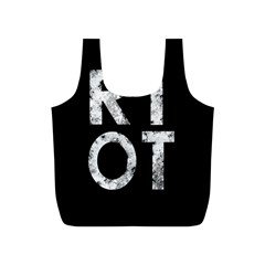 Riot Full Print Recycle Bags (s)  by Valentinaart