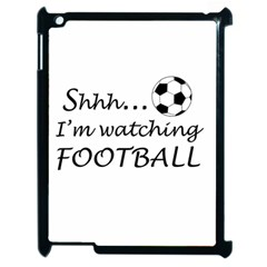 Football Fan  Apple Ipad 2 Case (black) by Valentinaart