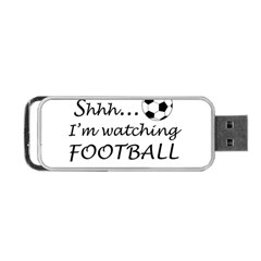 Football Fan  Portable Usb Flash (two Sides) by Valentinaart