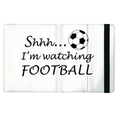 Football Fan  Apple Ipad 3/4 Flip Case by Valentinaart