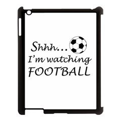 Football Fan  Apple Ipad 3/4 Case (black) by Valentinaart