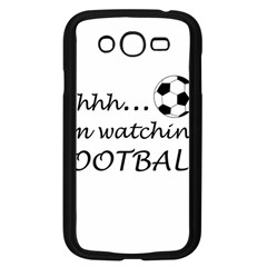 Football Fan  Samsung Galaxy Grand Duos I9082 Case (black) by Valentinaart