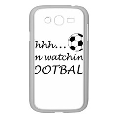 Football Fan  Samsung Galaxy Grand Duos I9082 Case (white) by Valentinaart