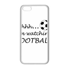 Football Fan  Apple Iphone 5c Seamless Case (white) by Valentinaart