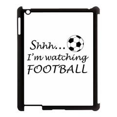 Football Fan  Apple Ipad 3/4 Case (black) by Valentinaart