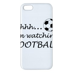 Football Fan  Apple Iphone 5 Premium Hardshell Case by Valentinaart