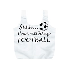 Football Fan  Full Print Recycle Bags (s)  by Valentinaart