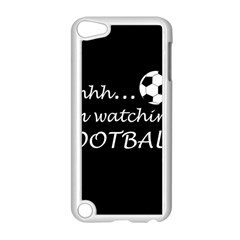 Football Fan  Apple Ipod Touch 5 Case (white) by Valentinaart