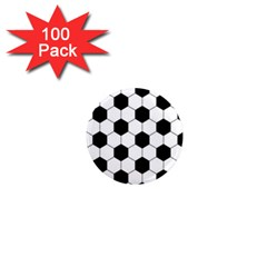 Football 1  Mini Magnets (100 Pack)  by Valentinaart