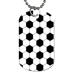 Football Dog Tag (two Sides) by Valentinaart
