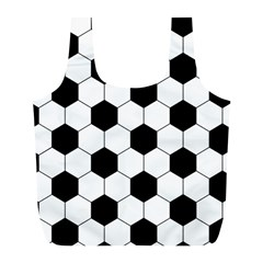 Football Full Print Recycle Bags (l)  by Valentinaart