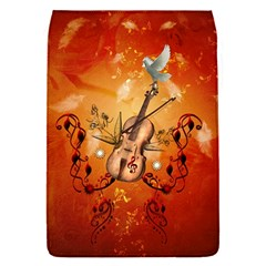 Violin With Violin Bow And Dove Flap Covers (s)  by FantasyWorld7