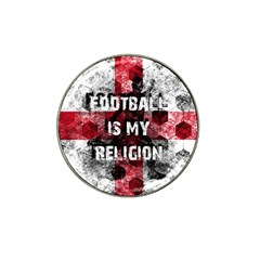 Football Is My Religion Hat Clip Ball Marker (10 Pack) by Valentinaart