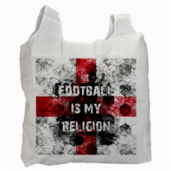 Football Is My Religion Recycle Bag (one Side) by Valentinaart