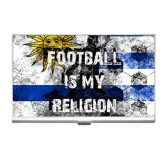 Football Is My Religion Business Card Holders by Valentinaart