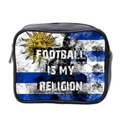 Football Is My Religion Mini Toiletries Bag 2 Side by Valentinaart