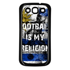Football Is My Religion Samsung Galaxy S3 Back Case (black)