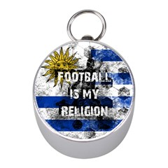 Football Is My Religion Mini Silver Compasses by Valentinaart