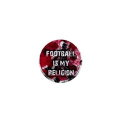 Football Is My Religion 1  Mini Buttons by Valentinaart