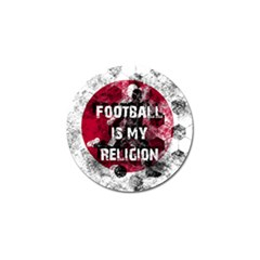 Football Is My Religion Golf Ball Marker (4 Pack) by Valentinaart