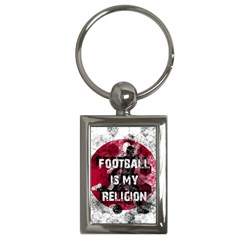 Football Is My Religion Key Chains (rectangle)  by Valentinaart