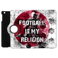 Football Is My Religion Apple Ipad Mini Flip 360 Case by Valentinaart