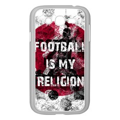 Football Is My Religion Samsung Galaxy Grand Duos I9082 Case (white) by Valentinaart