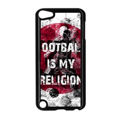 Football Is My Religion Apple Ipod Touch 5 Case (black) by Valentinaart