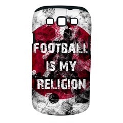 Football Is My Religion Samsung Galaxy S Iii Classic Hardshell Case (pc+silicone)