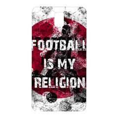 Football Is My Religion Samsung Galaxy Note 3 N9005 Hardshell Back Case by Valentinaart