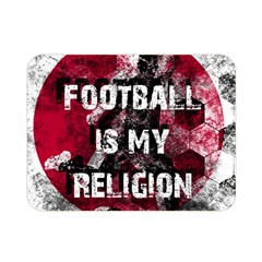 Football Is My Religion Double Sided Flano Blanket (mini)  by Valentinaart