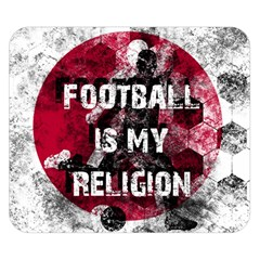 Football Is My Religion Double Sided Flano Blanket (small)  by Valentinaart