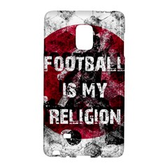 Football Is My Religion Galaxy Note Edge by Valentinaart